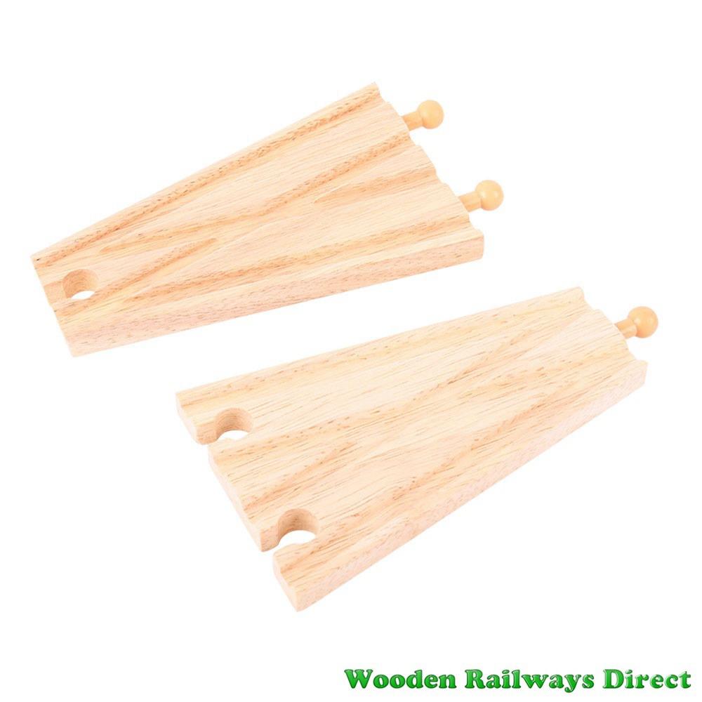 Bigjigs Wooden Railway Track Splitters Track