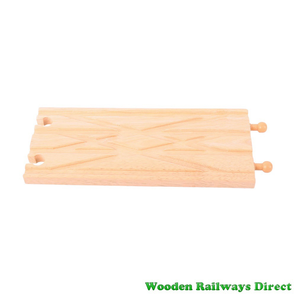 Bigjigs Wooden Railway Diamond Cross Over Track