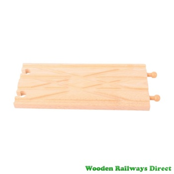 Bigjigs Wooden Railway Diamond Cross Over Track