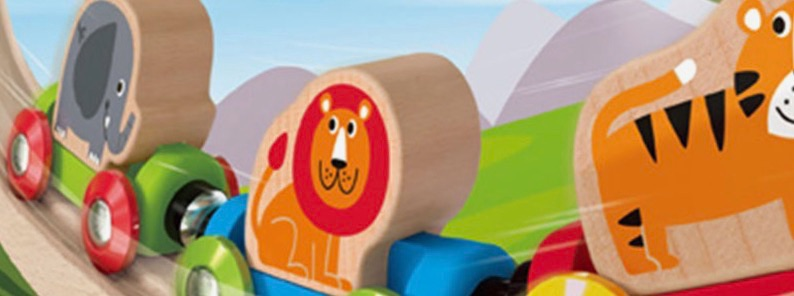 Hape Toddler Wooden Railway