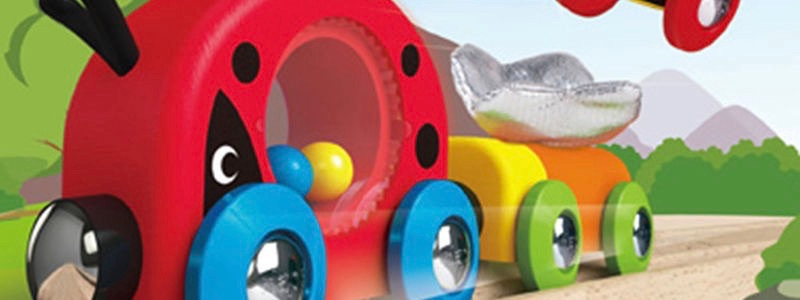 Toddler Range from Wooden Railways Direct