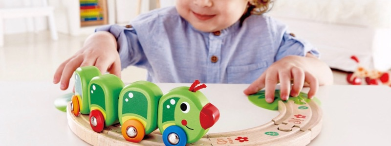 Toddler Wooden Railways from Hape