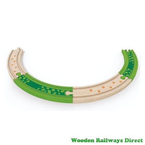 Hape Wooden Railway Deep Jungle Track Pack