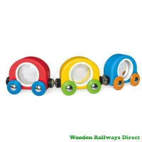 Hape Wooden Railway Take A Look Train