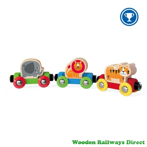 Hape Wooden Railway Jungle Journey Train