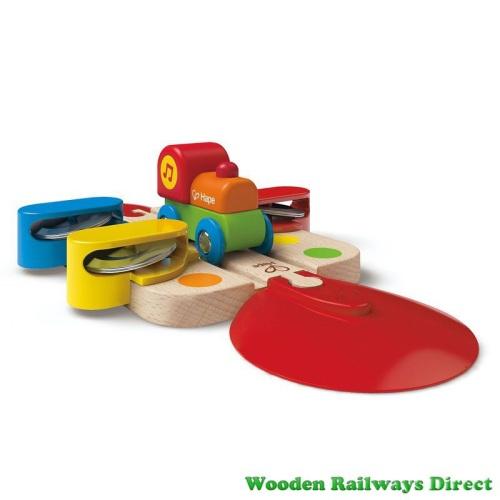 Hape Wooden Railway Tambourine Tune Track