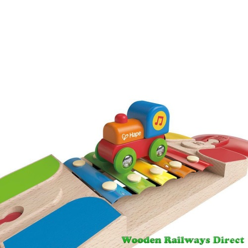 Hape Wooden Railway Xylophone Melody Track
