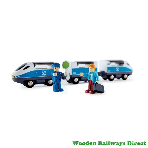 Hape Wooden Railway Intercity Train