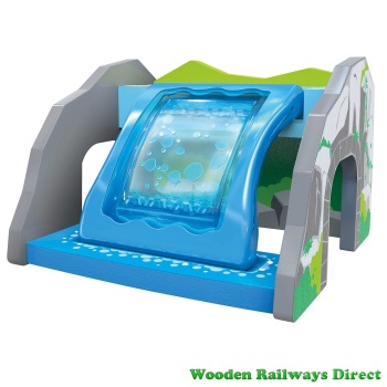 Hape Wooden Railway Waterfall Tunnel