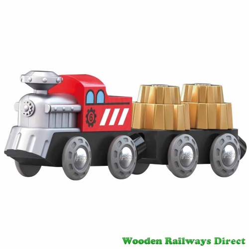 Hape Wooden Railway Cogwheel Train