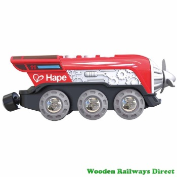 Hape Wooden Railway Propeller Battery Engine