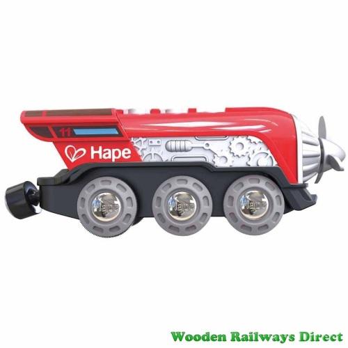 Hape Wooden Railway Propeller Battery Engine