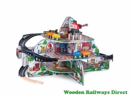 Hape Wooden Railway Mega Mountain Mine