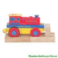 Bigjigs Railway Battery Operated Steam Engine