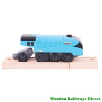 Bigjigs Railway Mallard Battery Operated Engine
