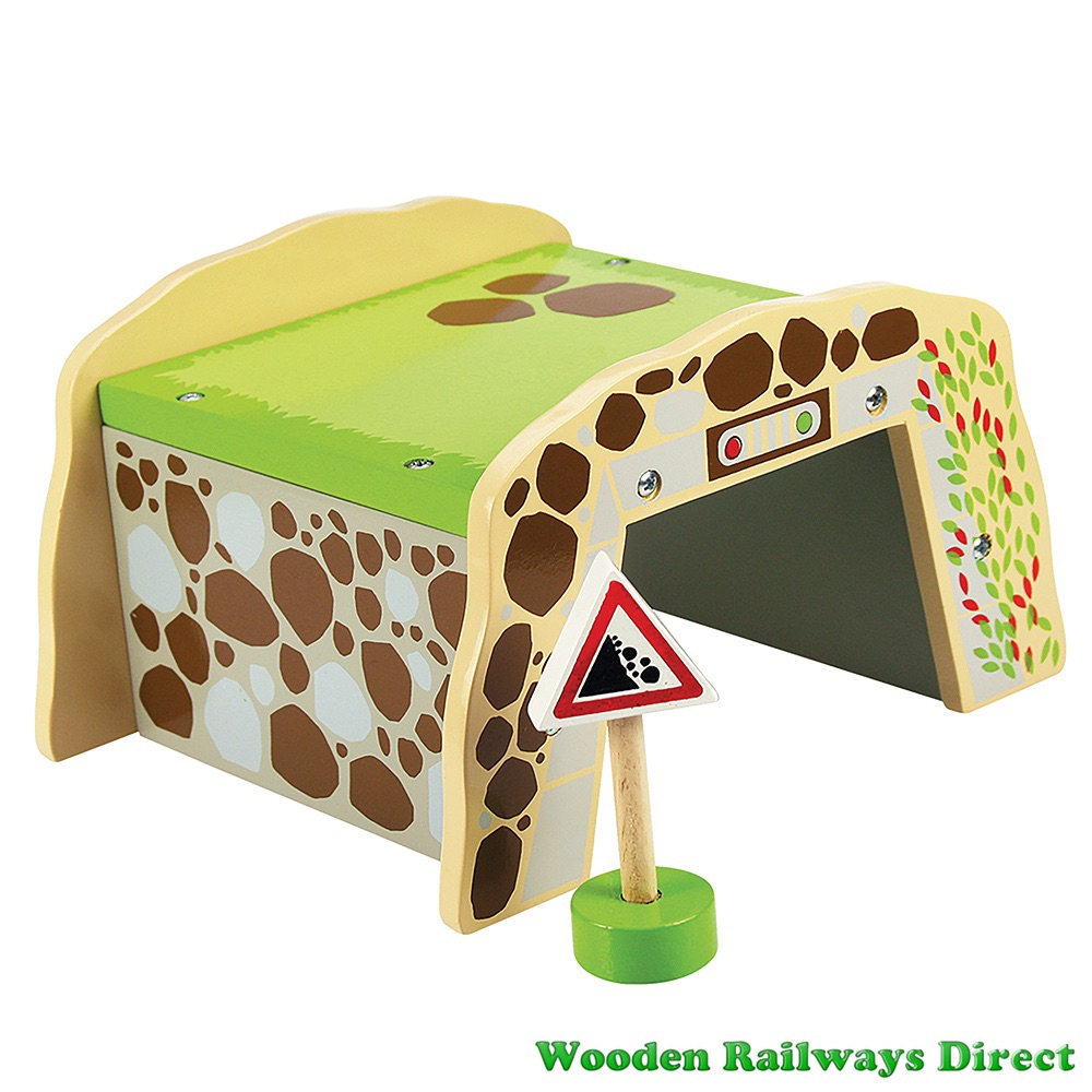 Bigjigs Wooden Railway Mountain Tunnel