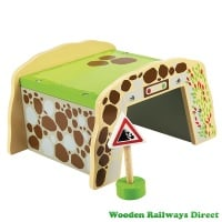 Bigjigs Wooden Railway Mountain Tunnel
