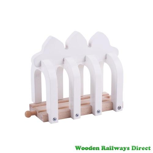 Bigjigs Wooden Railway Dinosaur Ribcage Tunnel