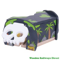 Bigjigs Wooden Railway Pirate Treasure Cave