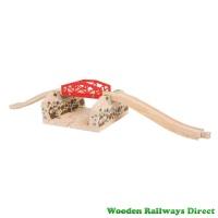 Bigjigs Wooden Roadway Cutting Bridge
