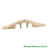 Bigjigs Wooden Railway Three Arch Bridge