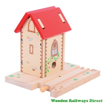 Bigjigs Wooden Railway Bell Tower