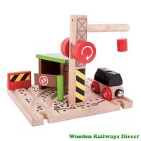 Bigjigs Wooden Railway Coal Mine