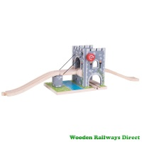 Bigjigs Wooden Railway Medieval Drawbridge