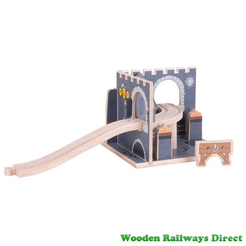 Bigjigs Wooden Railway Medieval Dungeon