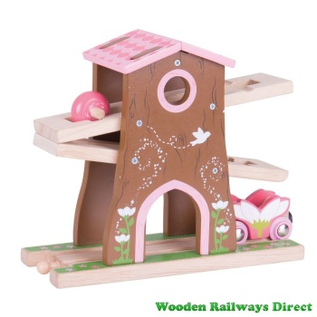 Bigjigs Wooden Railway Fairy Pixie Dust Tree House