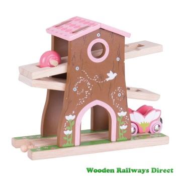 Bigjigs Wooden Railway Fairy Pixie Dust Tree House