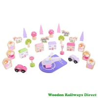 Bigjigs Wooden Railway Fairy Accessory Expansion Pack