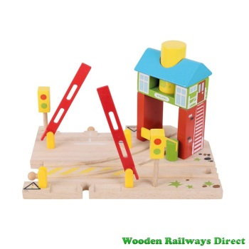 Bigjigs Wooden Railway Signal Box