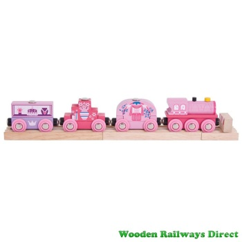 Bigjigs Wooden Railway Fairy Princess Train