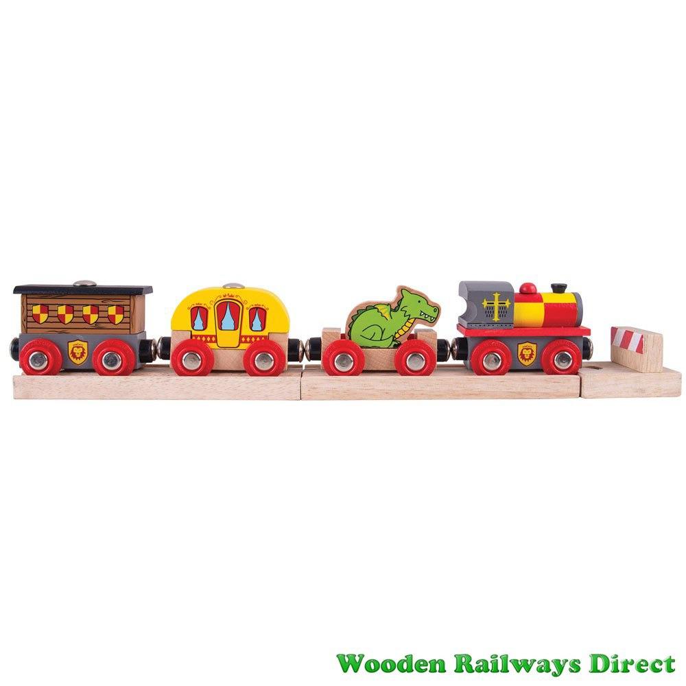 Bigjigs Wooden Railway Medieval Train