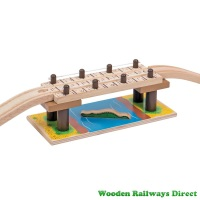 Bigjigs Wooden Railway Safari Rope Bridge