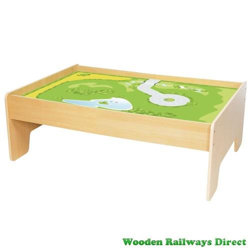 Bigjigs Wooden Railway Train Table