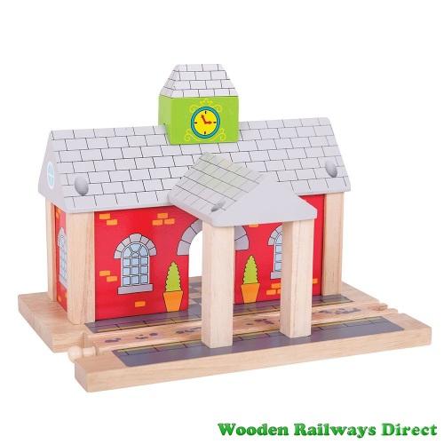 Bigjigs Wooden Railway Station