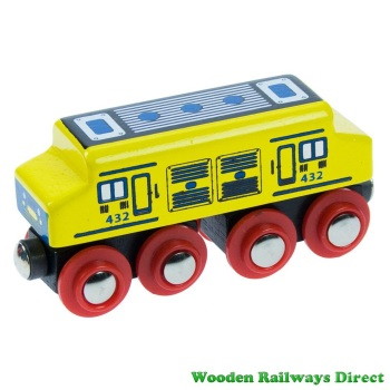 Bigjigs Wooden Railway Diesel Engine