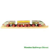 Bigjigs Wooden Railway Bullet Train
