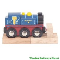 Bigjigs Wooden Railway Bluebell Engine