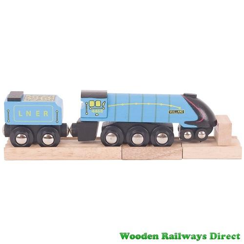 Bigjigs Wooden Railway Mallard Engine