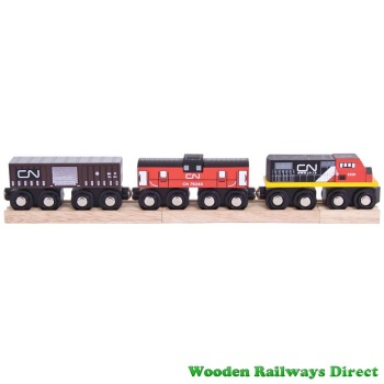 Bigjigs Wooden Railway CN Train