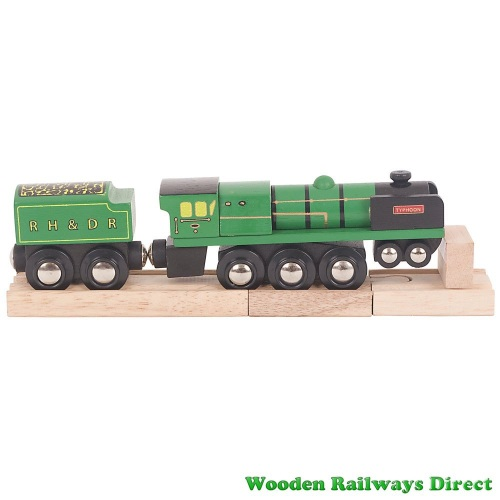 Bigjigs Wooden Railway RH and DR Typhoon Engine
