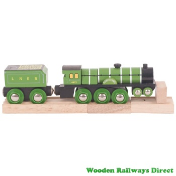 Bigjigs Wooden Railway Flying Scotsman Engine