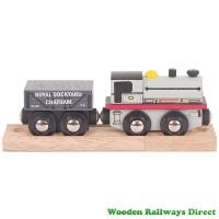 Bigjigs Wooden Railway Peckett Engine