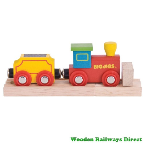 Bigjigs Wooden Railway My First Engine