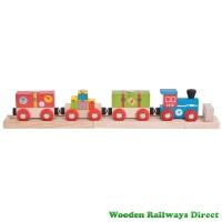 Bigjigs Wooden Railway Airport Express