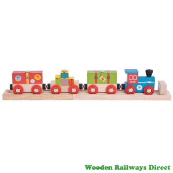 Bigjigs Wooden Railway Airport Express