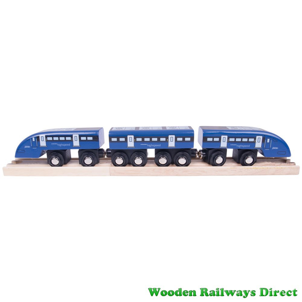Bigjigs Wooden Railway High Speed One Train